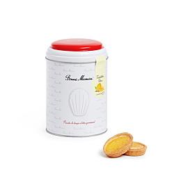 Keksdose mit Zitronen-Tartelettes